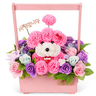 비누꽃_분홍푸들